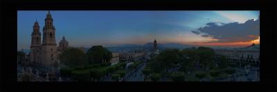 Plaza de Armas de Morelia
